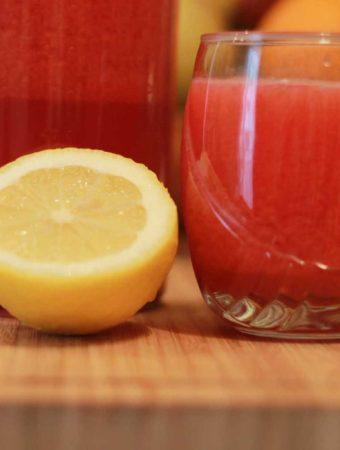 Limonada aromata cu ghimbir