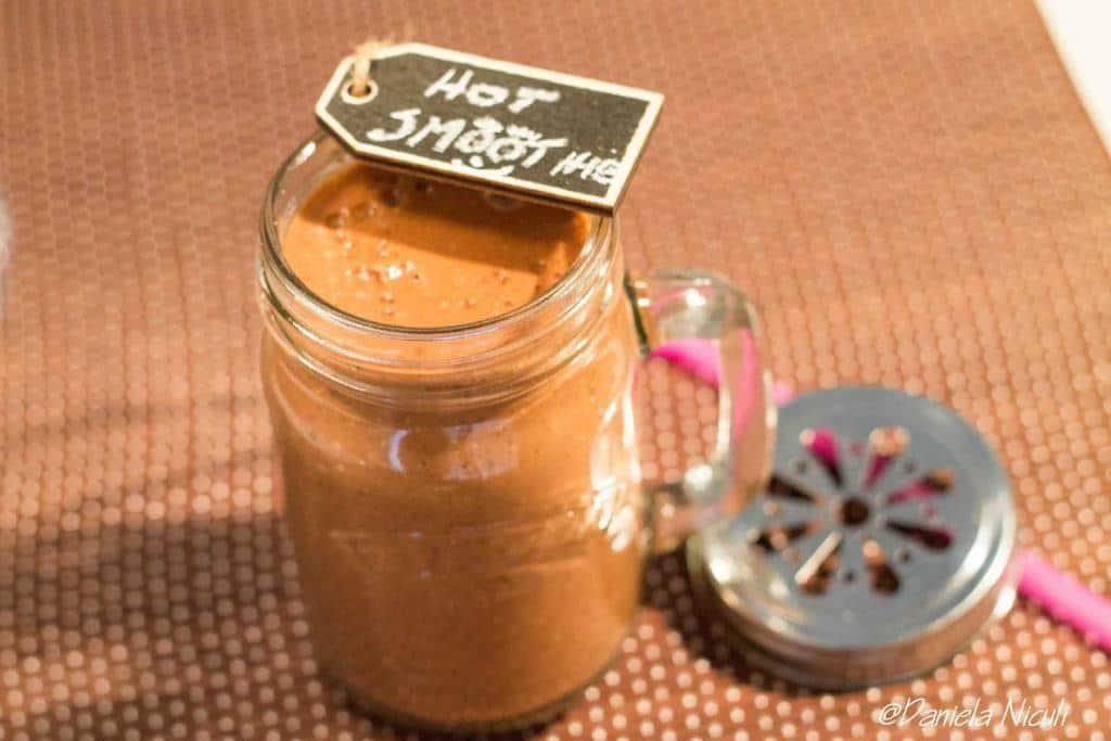 smoothie cu ciocolata