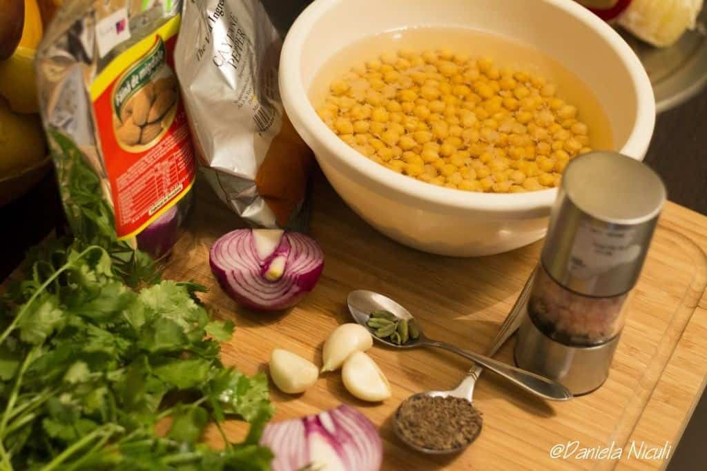 ingrediente falafel