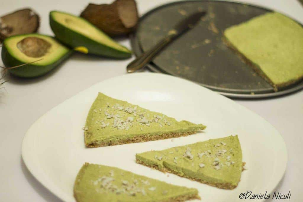 Tarta cu avocado