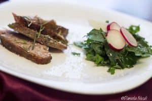 Vita cu salata de cale