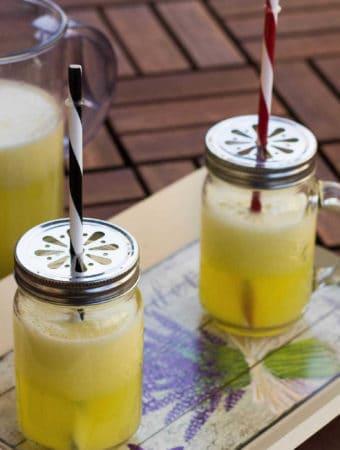 limonada cu ananas si ghimbir
