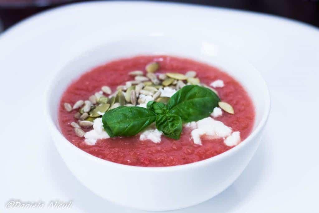 gazpacho cu pepene rosu