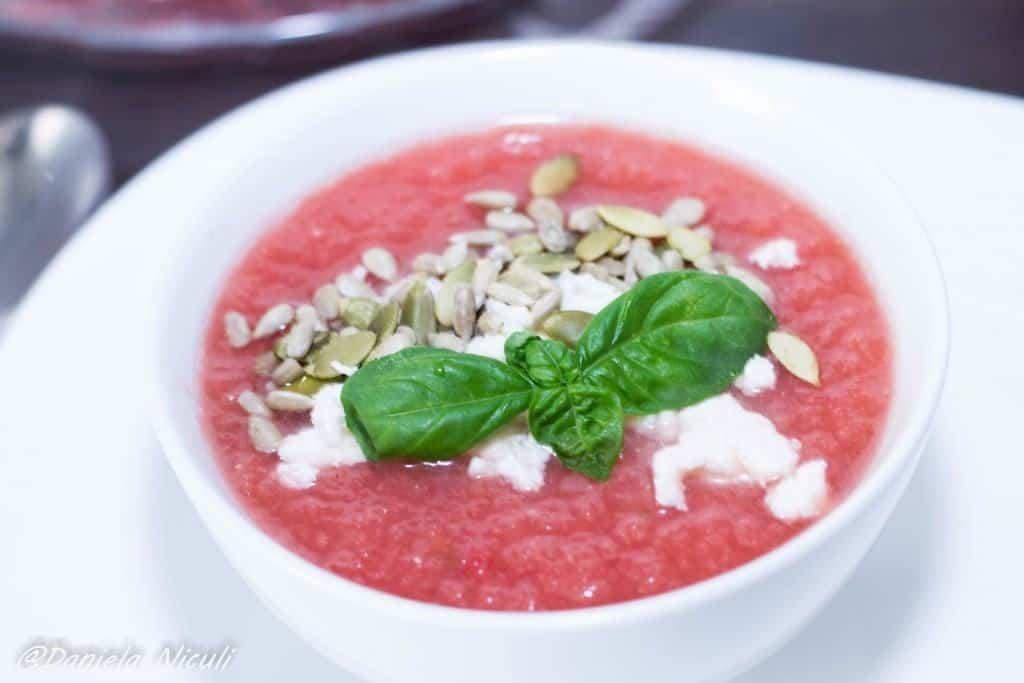 gazpacho pepene rosu