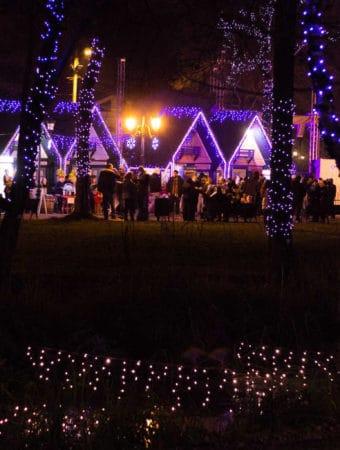 Parcul Mogosoaia in straie de sarbatoare, taramul magic pentru toate varstele