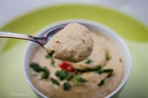 supa crema de pastarnac cu lapte de cocos