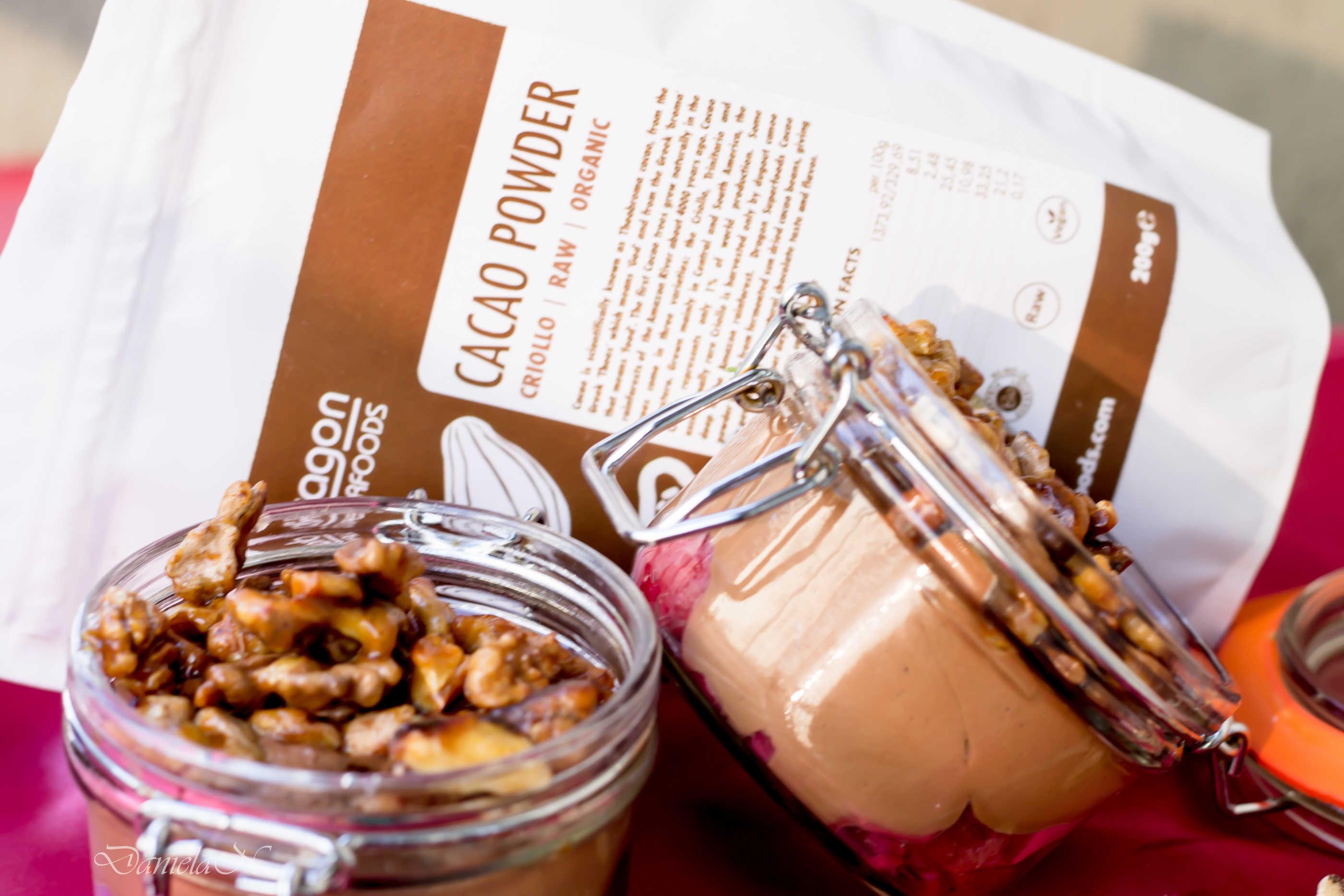 budinca de ciocolata fara zahar