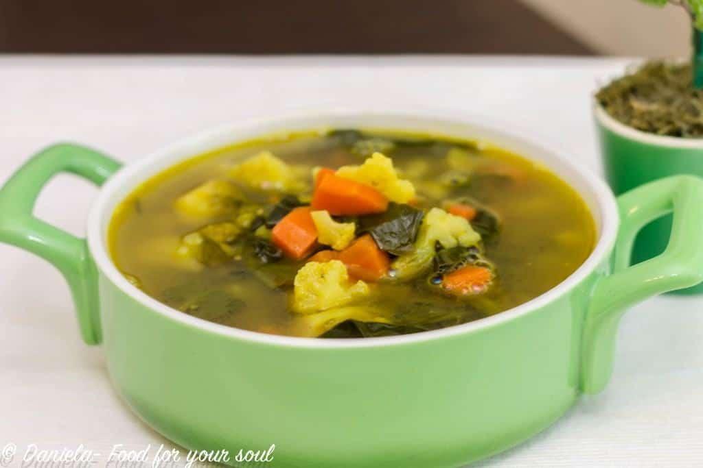 supa de linte cu conopida