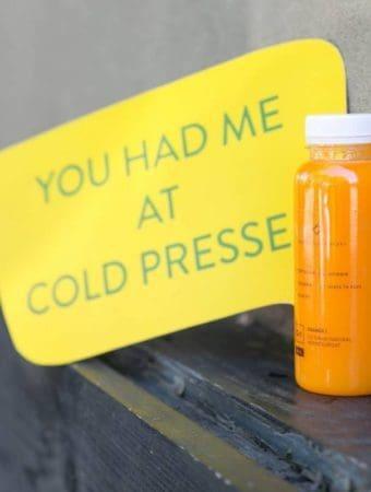 Cold Pressed Juicery, adevaratul suc natural