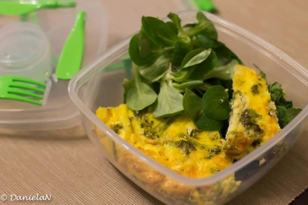 omleta cu broccoli