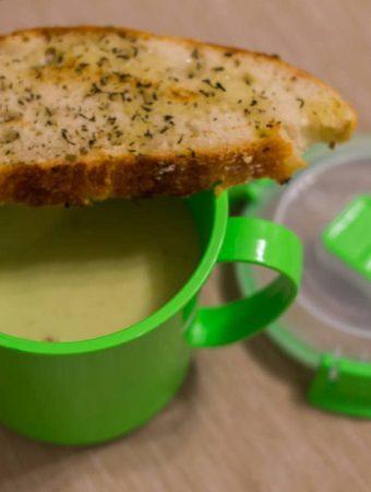 supa crema de andive