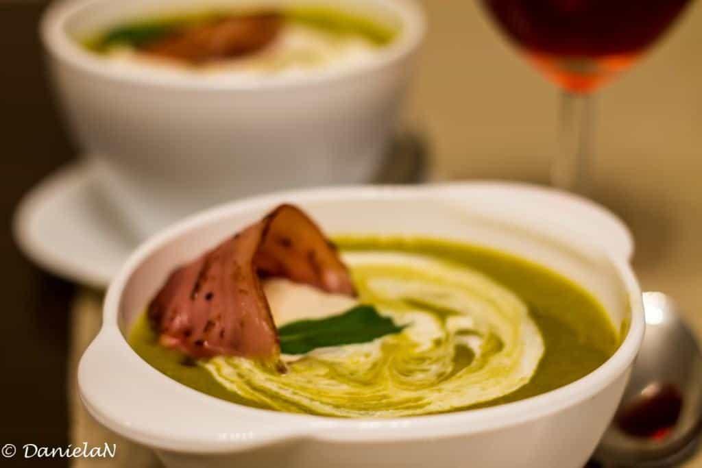 supa de linte cu spanac