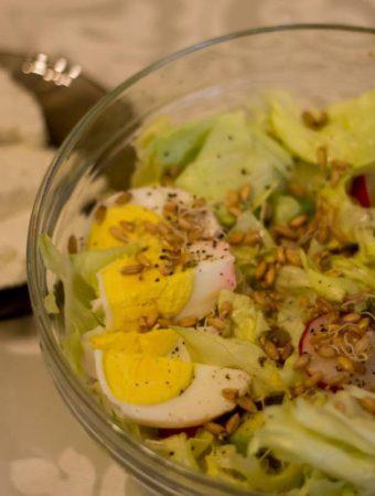 salata cu germeni de grau