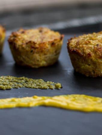 Brioșe cu ton și quinoa