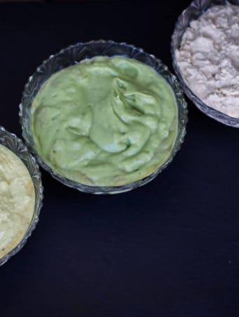 Maioneză vegană. 3 Rețete în 5 minute cu avocado, tofu și caju