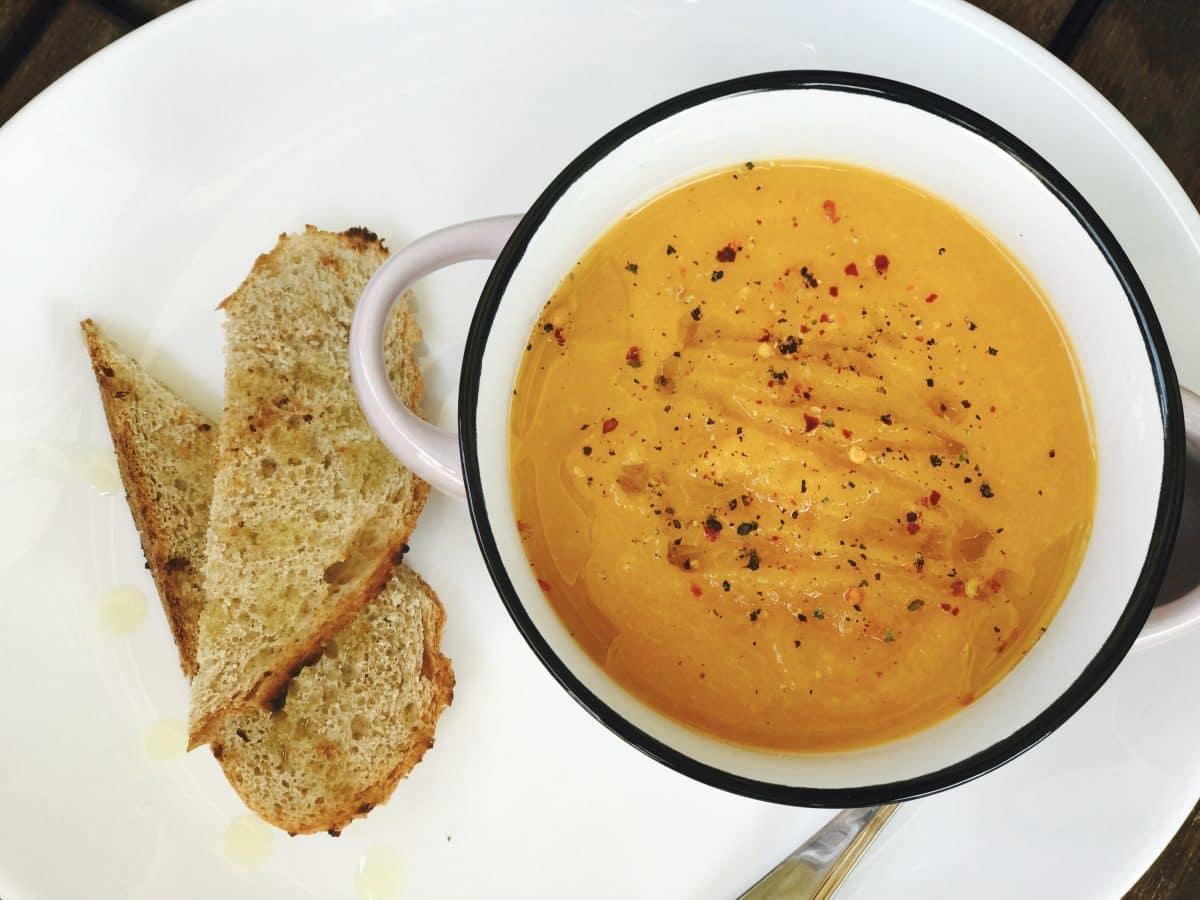 supa crema de legume pentru copii