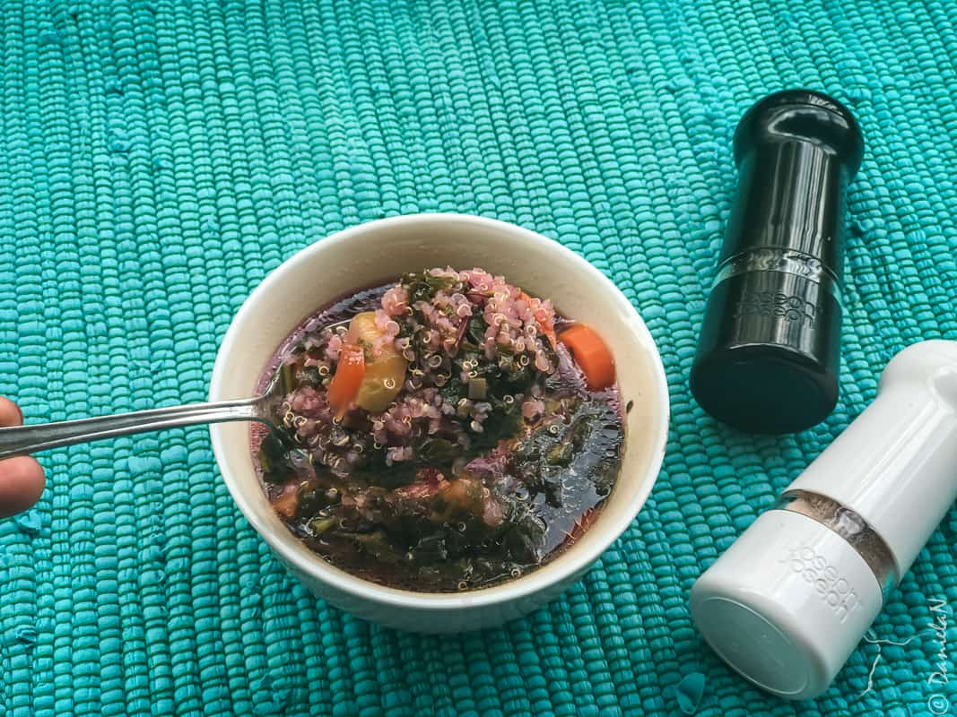 ciorba de loboda cu quinoa