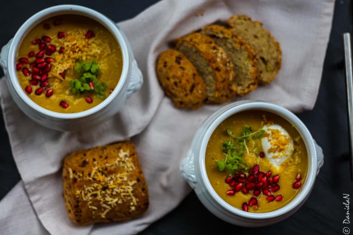 supa de linte cu cartof dulce
