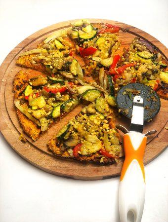 pizza din cartof dulce